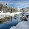 Fred Haaser, Yellowstone River in White, Color Print 13x19 framed, $160, Pack489@yahoo.com, 513-602-1734