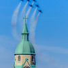 Constance Sanders, Blue Angels Buzz Bellevue, 8x10 digital print framed to 11x13, $75, consanphotos@gmail.com, 855-391-3336