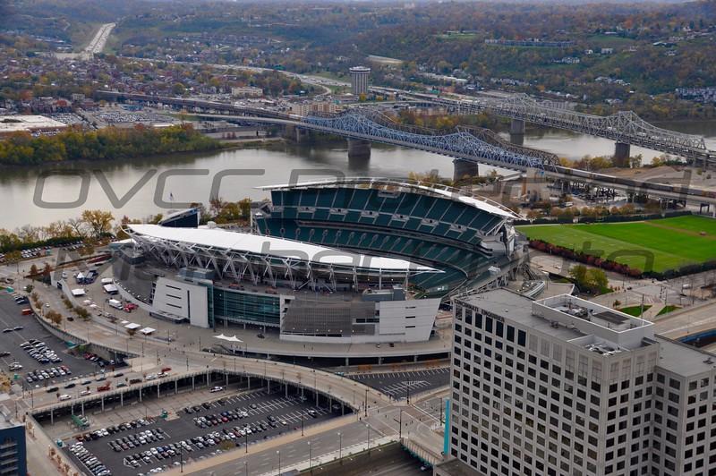 Paul Brown Stadium by Bridges