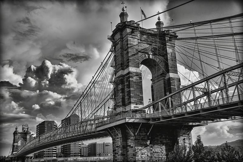 Stormy Skies Over The Bridge
