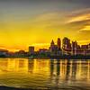 Sunset on The OHIO