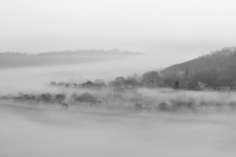 Croce, Tom - Fog on the Ohio - Giclee print on gloss photo paper - 20X30 - $175