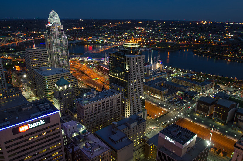 Larry Snodgrass, Evening Tower View, 16x24 framed digital print, $160, lsnodgrass@twc com, 859-431-0409