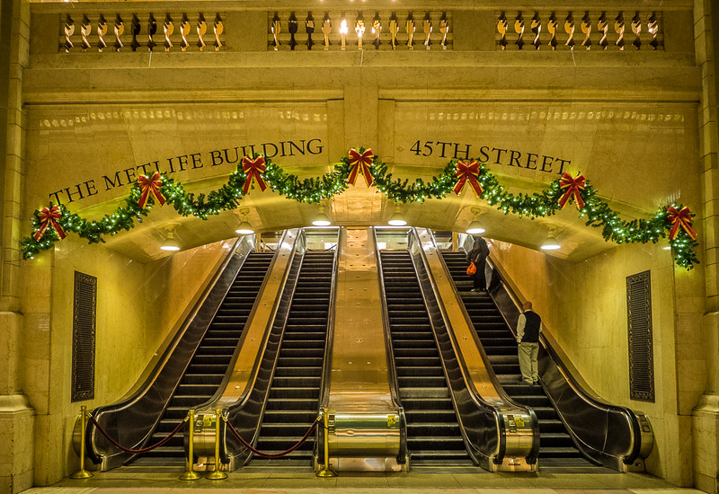 Nelson Charette, Grand Central Christmas, Canvas Print,  20x16,  $97, Nelson@Charette.Me  (859) 630-6889