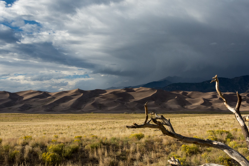 "Ron Williams, ""Dusk at Great Sand Dunes National Park"", digital print, 13"" x 19"", $100, rrwms@twc.com, 859-428-2527"