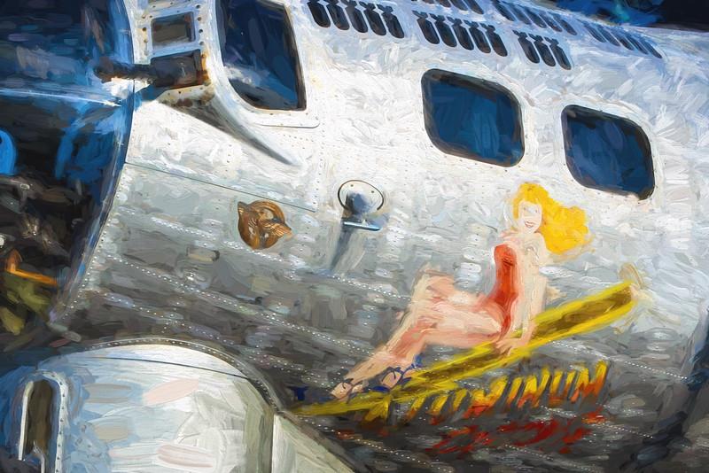 Larry Pytlinski, Metal Lady, digital print on art paper, 21x29, $175.00, ljpyt47@gmail.com, 513-439-7780