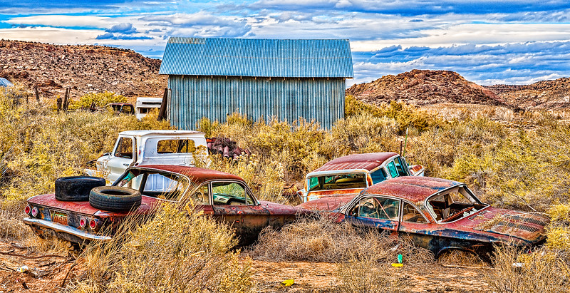 Behind Ismay Trading Post, Road G west of Cortez, CO