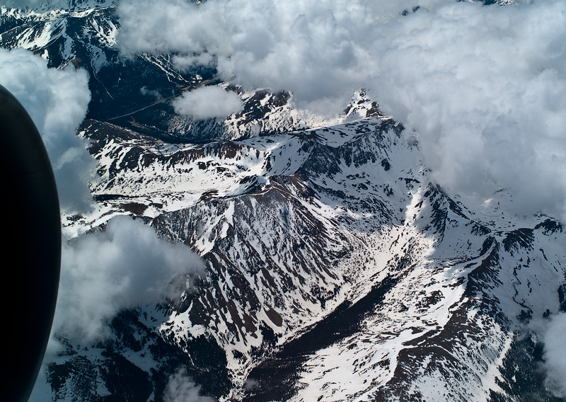 Colorado Front Range: From a window seat