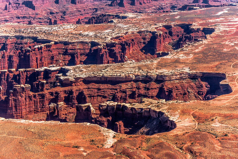 Hike to Grand View Point, Canyonlands National Park