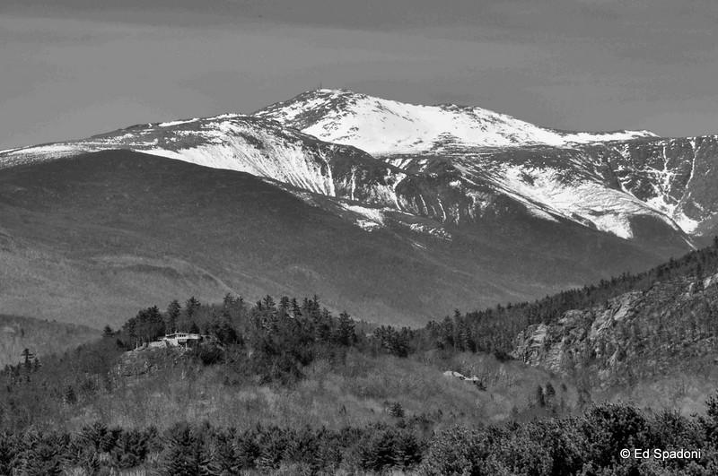 Mount Washington, B&W