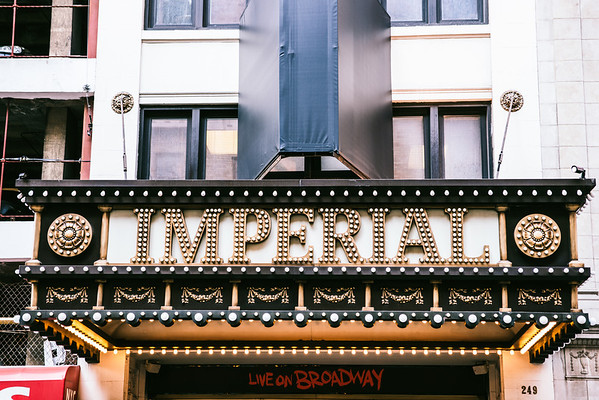 New York City - Broadway Theater Marquee