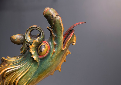 Dragon sleigh-er