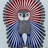 Vibrant Yong Owl