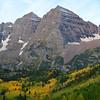 Maroon Bells Near Aspen Colorado in September 8