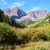 Maroon Bells Near Aspen Colorado in September 4
