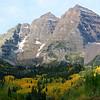 Beautiful Maroon Bells Near Aspen Colorado