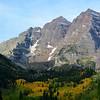 Morning Hike at Maroon Bells Near Aspen Colorado 2