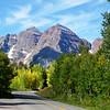 Maroon Bells Near Aspen Colorado in September 3