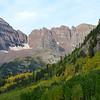 Maroon Bells Near Aspen Colorado in September 10