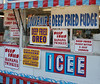 2007 Md State Fair: Gotta love a place that believes *anything* can be deep-fried... here's the close-up for some of the unusual deep-fried things they offer for sale
