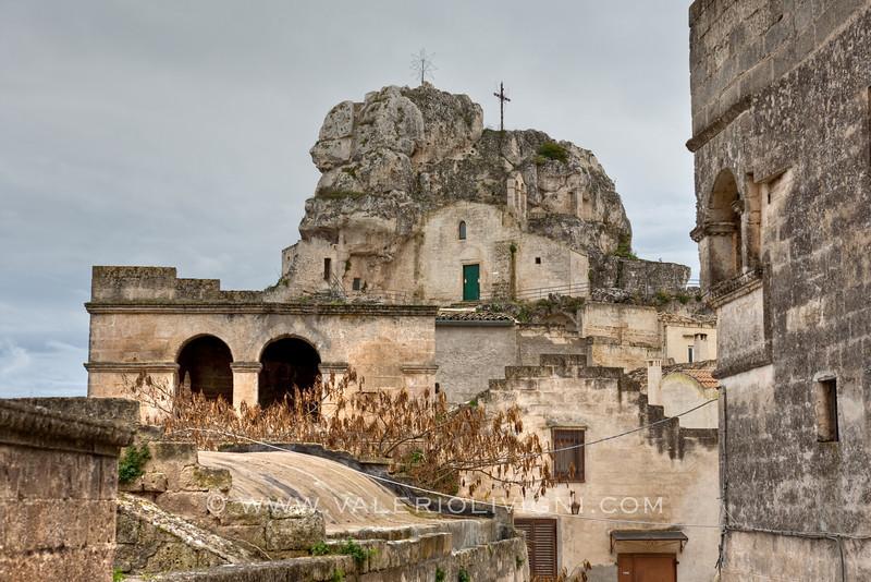 Church of Santa Maria de Idris form Sasso Caveoso side - Matera (IT)