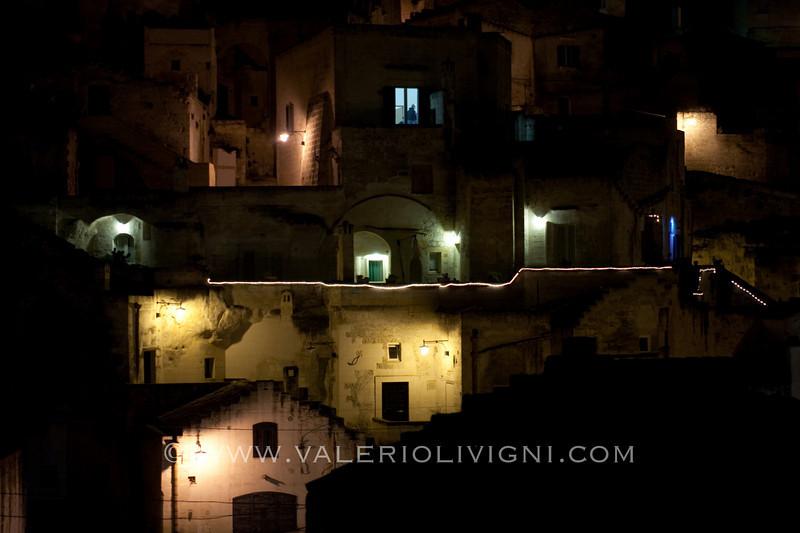 The Sasso Barisano from the Civita - Matera (IT)