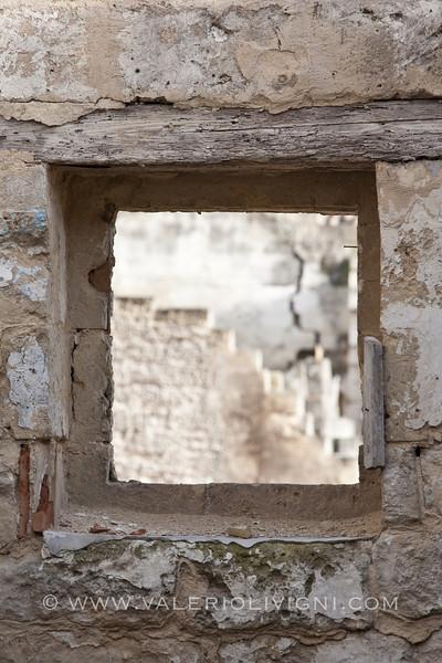 Window in the Sasso Barisano - Matera (IT)