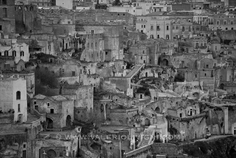 The Civita from Sasso Barisano side - Matera (IT)