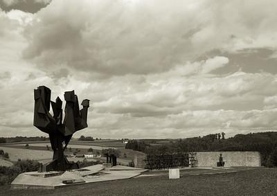 A very poignant Jewish memorial.
