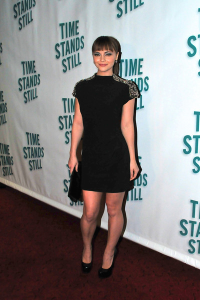 """10/07/10 -Christina Ricci attends the after party at 230 Fifth following opening night of the Broadway play """"Time Stands Still,"""" which she stars in.v"""