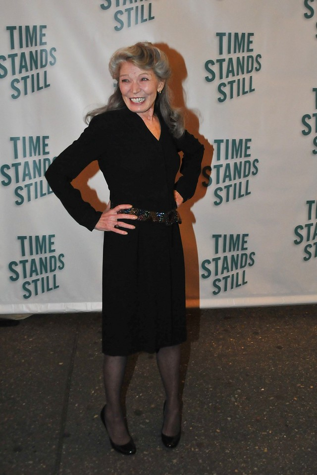 """10/07/10 -Phyllis Somerville attends opening night of """"Time Stands Still"""" at the Cort Theatre on Broadway."""