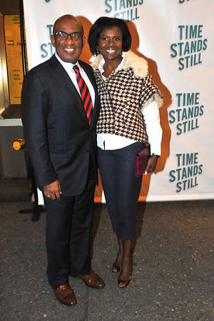 "10/07/10 Al and Deborah Roker attend opening night of ""Time Stands Still"" at the Cort Theatre on Broadway."