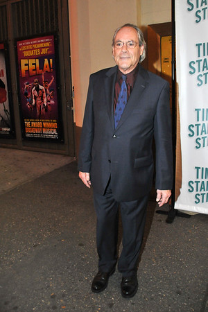 "10/07/10 Robert Klein attends opening night of ""Time Stands Still"" at the Cort Theatre on Broadway."