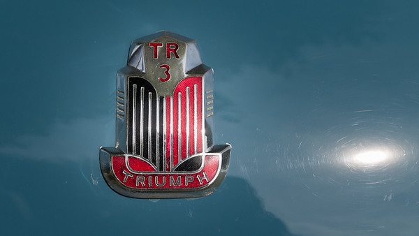 TR3 Badge and Sun