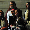 Members of the Elyria Catholic choir sing at the May Crowning ceremony at Elyria Catholic High on Monday, May 2. STEVE MANHEIM/CHRONICLE
