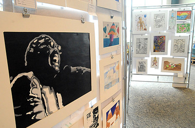 The Educational Service Center of Lorain County presents the 34th Annual Lorain County Elementary/Middle School Art Exhibit (grades K-8) at the Elyria Public Library, West River Branch, Tues. May 3.  The show continues through May 19 during library hours. STEVE MANHEIM/CHRONICLE