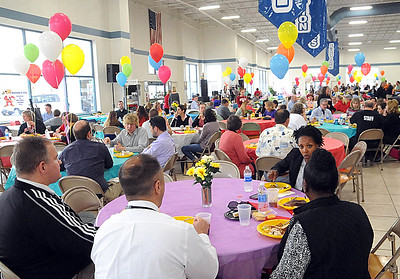 The annual Elyria Public Schools Cinco de Mayo Fundraiser at Nick Abraham Elyria Ford in Elyria on Tuesday, May 3.  STEVE MANHEIM/CHRONICLE