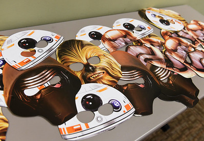 """KRISTIN BAUER   CHRONICLE The Avon Public Library hosted a """"May the Fourth"""" party on Wednesday evening, May 4."""