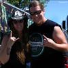 Chris with Dime Bags Lady!! Mayhem 2012!!