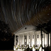 Star trails over Hampton Plantation