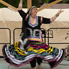 Ariane Terveld: vocals/Rajasthani dance (from northwestern India)