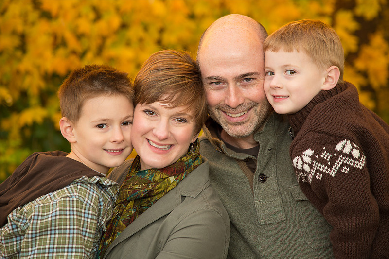 Family Portrait.  November 2013.  I am truly blessed!