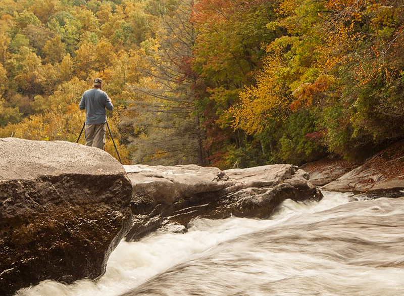 Fall 2013.  Gorges State Park, NC