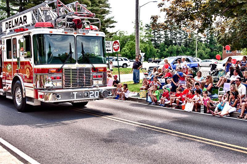 Delmar Fire Truck