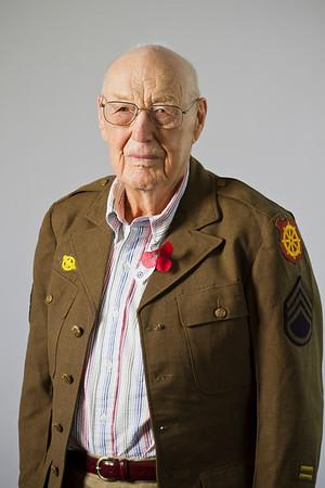 Paul Adams, WWII, Army, Staff Sergeant