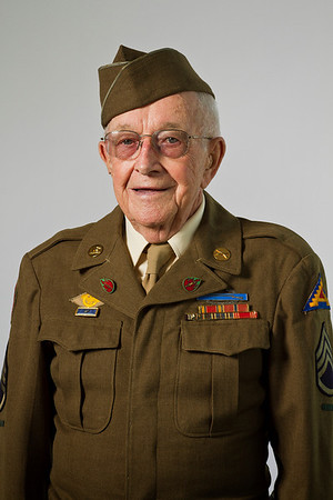 John Brandt, WWII, Army, Staff Sergeant