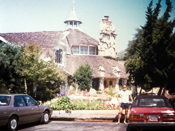 Pit stop at the Madonna Inn on the way home (August, 1986)