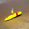 Lifeguard at Huntington Beach California