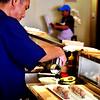 Making Sushi at South Coast Plaza in Costa Mesa California