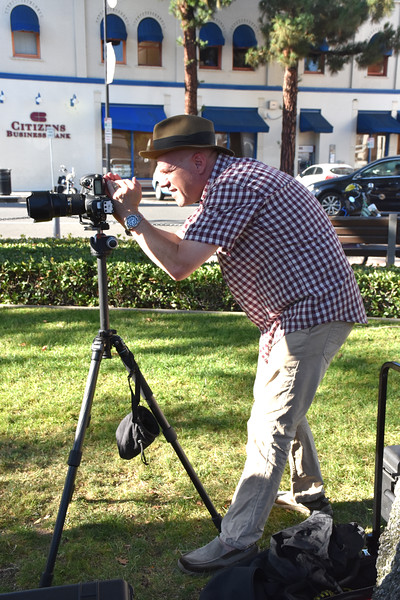 Photographer Getting Ready for Portrait Shoot 2